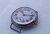 Omega 1915 stainless steel vintage pocket watch
