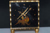 Omega 8 Days Enamel dial table clock