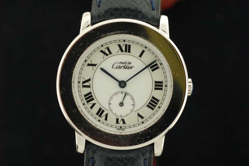 Cartier Stainless Steel Watch - SOLD