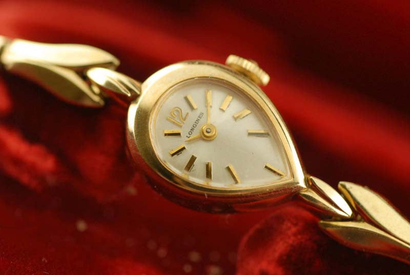 Longiness 10 KT Gold Filled Ladies watch