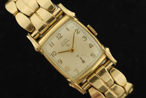 10Kt Gold Filled Elgin Watch