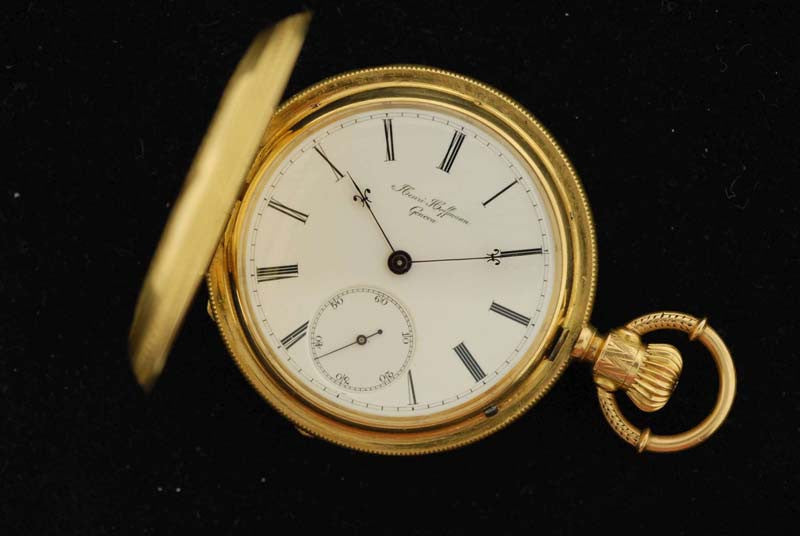 A.W. Co. 14Kt Gold pocket watch