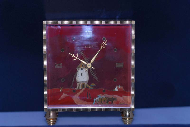 Omega 1950 Deluxe Table Clock