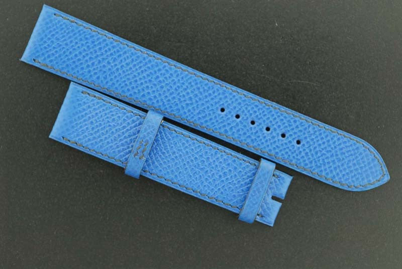 Hermes Royal blue leather Band