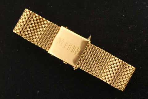 14Kt. yellow gold bracelet.