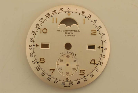 Dial from Record Watch Company