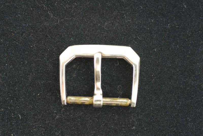 Omega 14Kt. solid white gold buckle