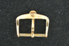 Omega gold plated buckle