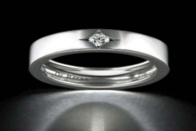 De Beers Radiance Band One Ring SKU # R103