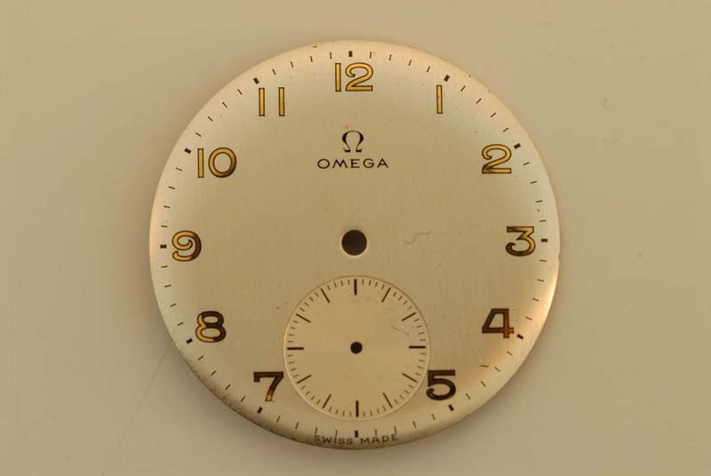 Omega Original Dial 25.55 mm Natural