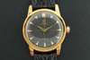 Omega 1952 Gold Plated Watch with Black Honeycomb dial - SOLD