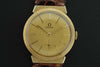 Omega 1956 14K yellow gold wrist watch - SOLD