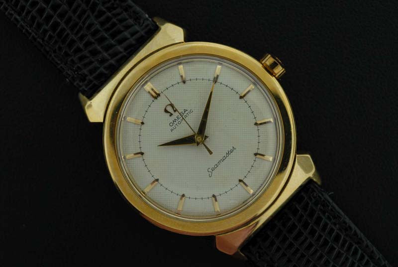 Omega 1958 Seamaster Gold Plated Watch - SOLD