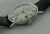 Omega stainless steel automatic timepiece with white dial - SOLD