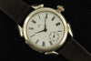 Omega 1900's hinged back silver wrist watch - SOLD