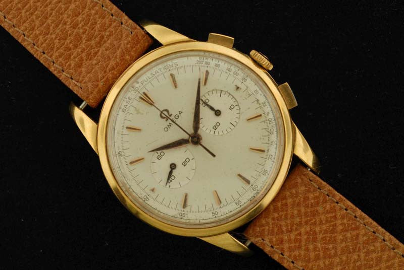 Omega 1959 gold plated with stainless steel back Time piece