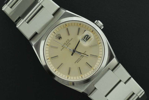 Rolex Oyster Perpetual Date Stainless Steel time piece - SOLD