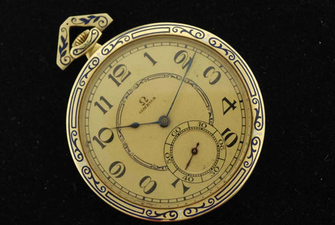 Extremely rare Omega pocket watch
