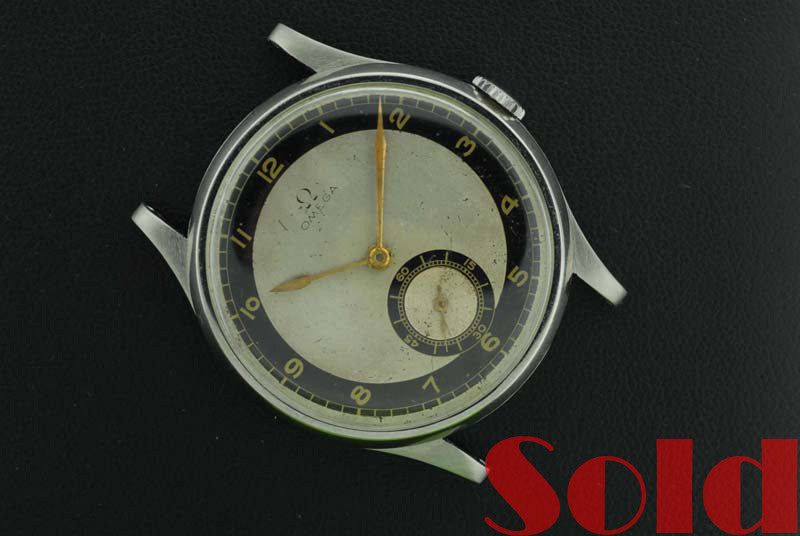 Omega 1934 Stainless steel vintage ticker - SOLD