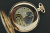 omega 1915 gold plated pocket watch