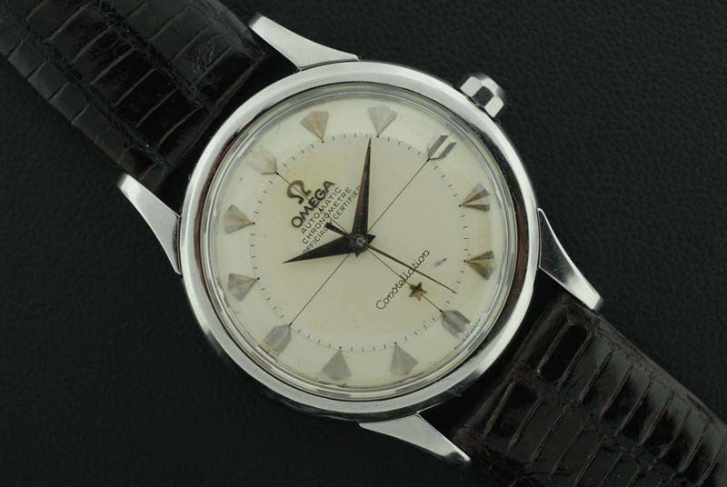 "Omega <i class=hide"">2</i>1958 Stainless Steel Constellation Chronograph"" - SOLD"