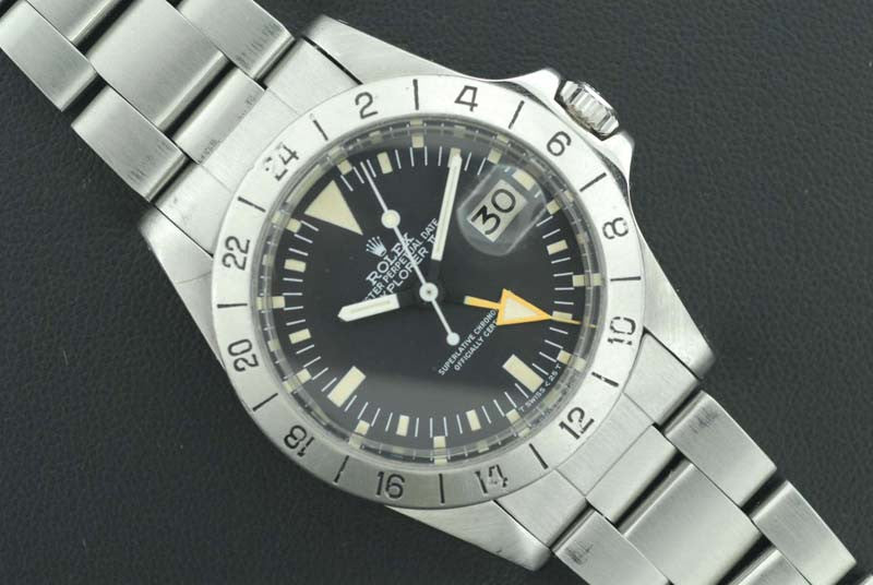 Rolex Oyster Perpetual Date Explorer II Stainless steel Chronograph - SOLD