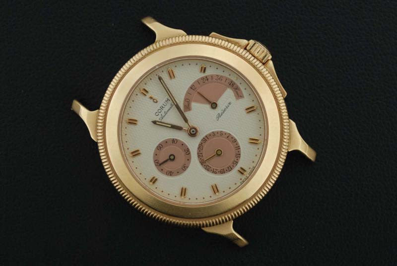 18k Rose Gold Corum watch - SOLD