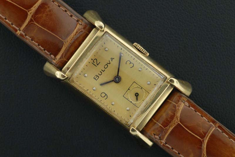Bulova 14K Gold Wrist watch - SOLD