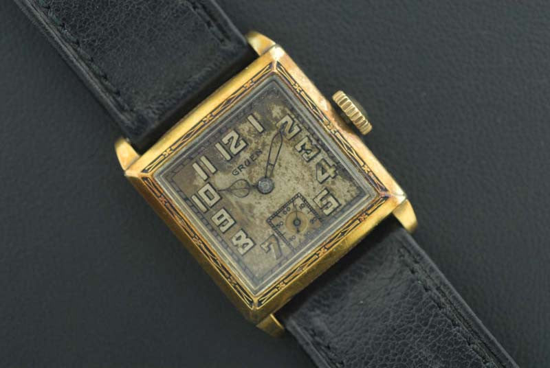 Gruen 14k Gold FilleD Watch - SOLD