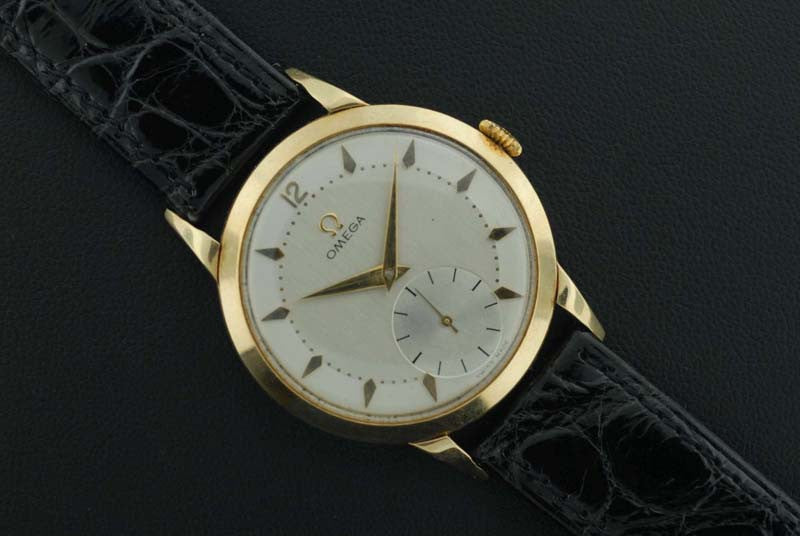 Omega 1952 14kt. yellow gold vintage watch