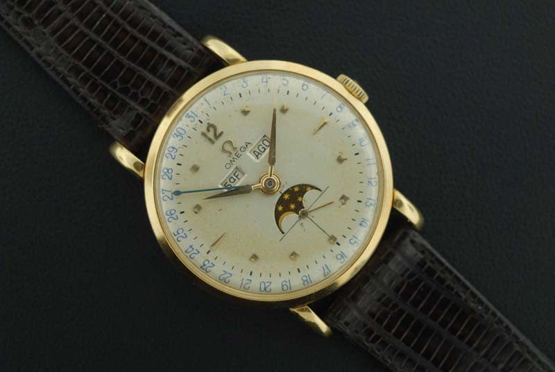 Omega 1947 gold plated vintage watch - SOLD