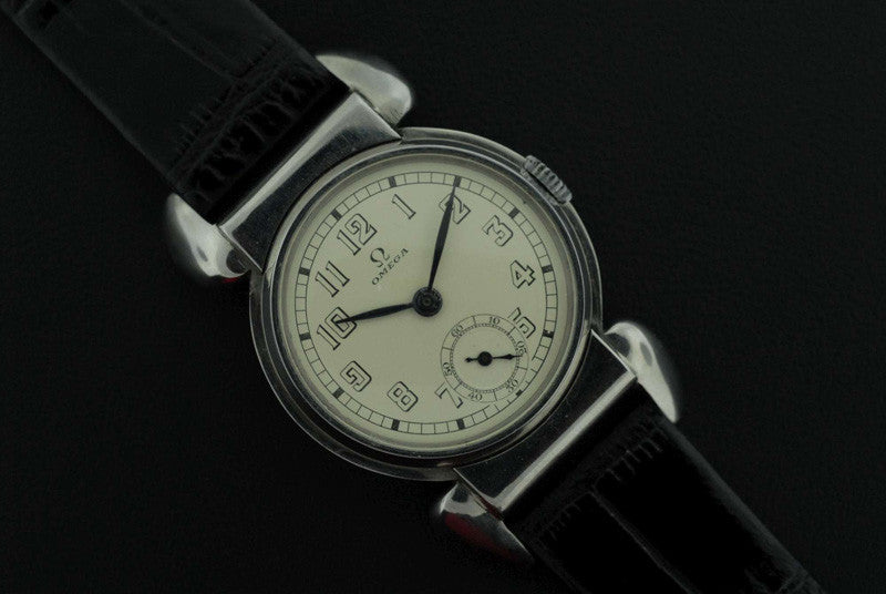Omega 1934 stainless steel vintage watch - SOLD