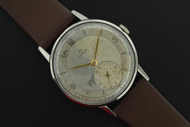Omega 1947 stainless steel vintage watch - SOLD