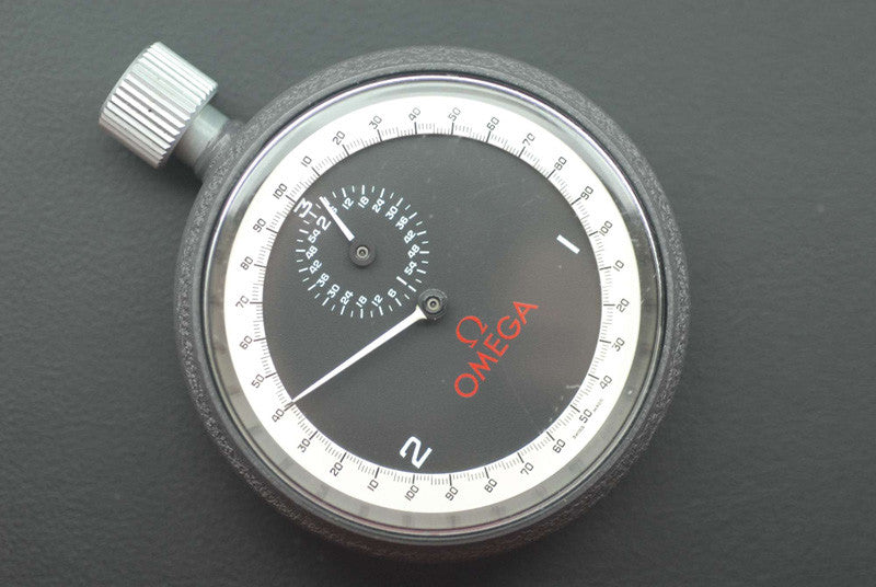 Omega Fashionable Stainless steel stop watch - SOLD