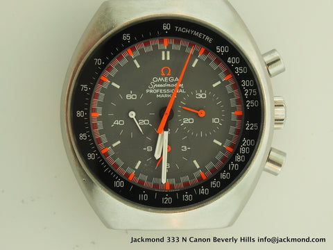 Omega Speedmaster Mark II Exotic Dial