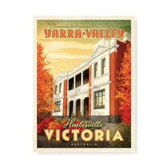 Healesville Hotel Yarra Valley colour print by Harper and Charlie