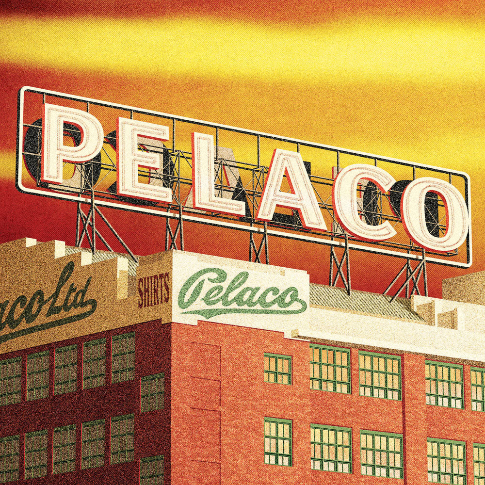 Pelaco Sign Richmond Colour Print Close Up by Harper and Charlie