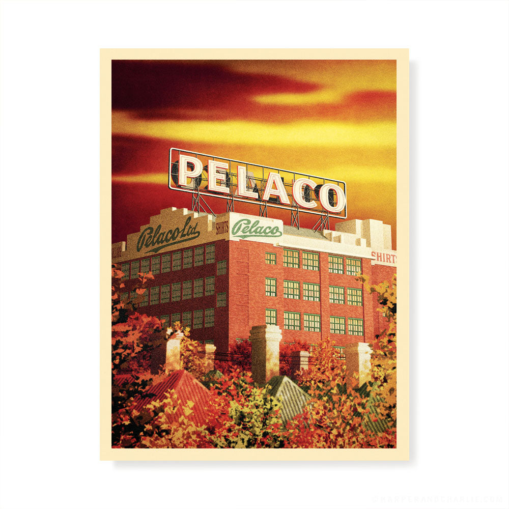 Pelaco Sign, Richmond Colour Print by Harper and Charlie