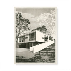 Rose Seidler House, Sydney Colour Print