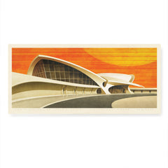 TWA Flight Center Colour Print by Harper and Charlie