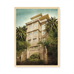 Beverley Hills Apartments colour print by Harper and Charlie