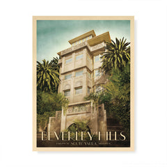 Beverley Hills Apartments South Yarra Colour Print