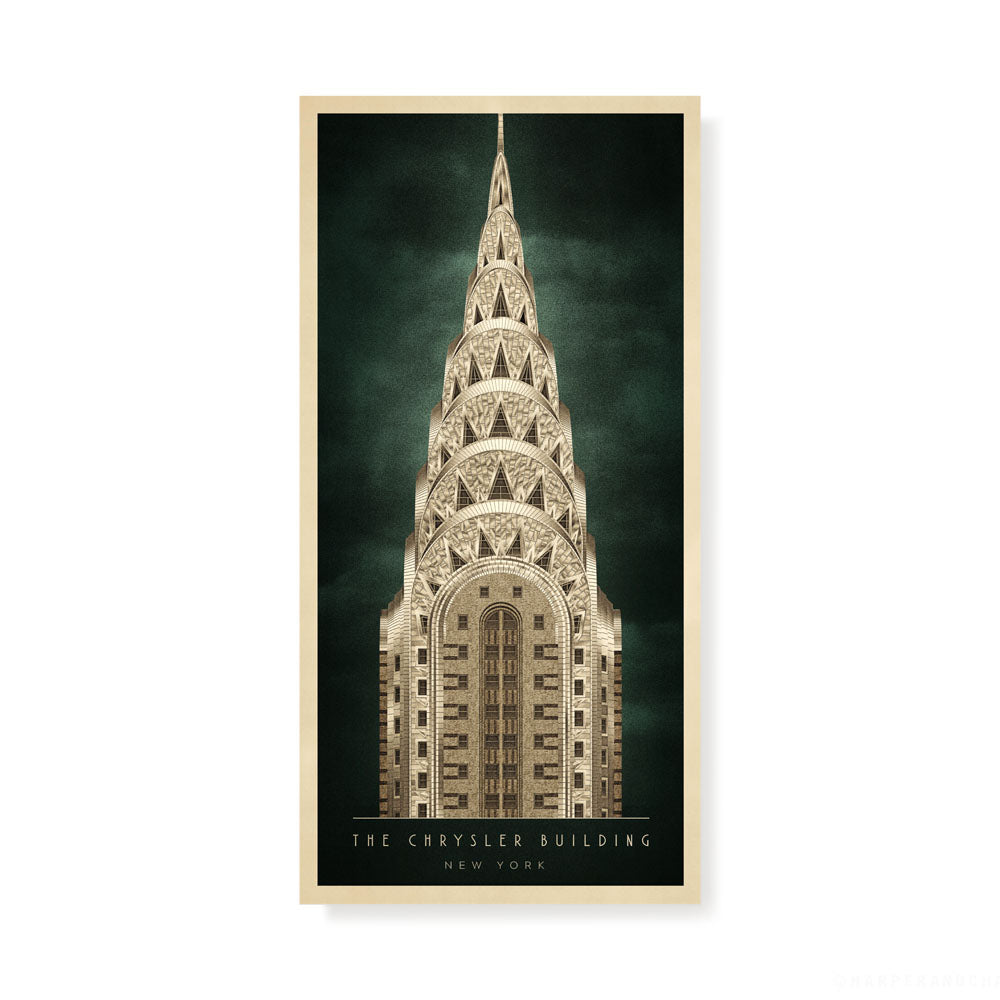 The Chrysler Building, New York Colour Print (2:1 Proportion)