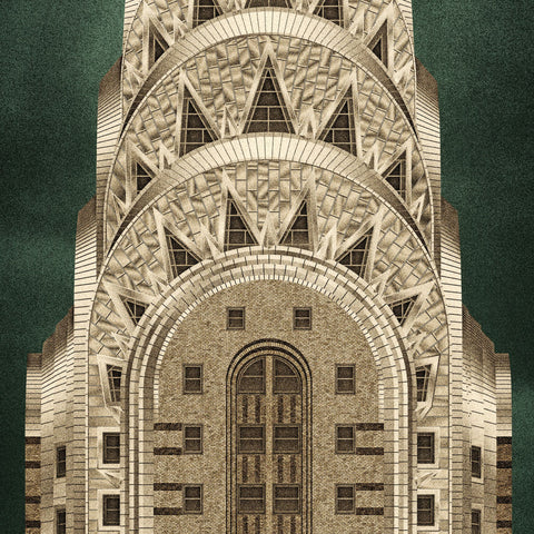 The Chrysler Building, New York (2:1 Proportion)