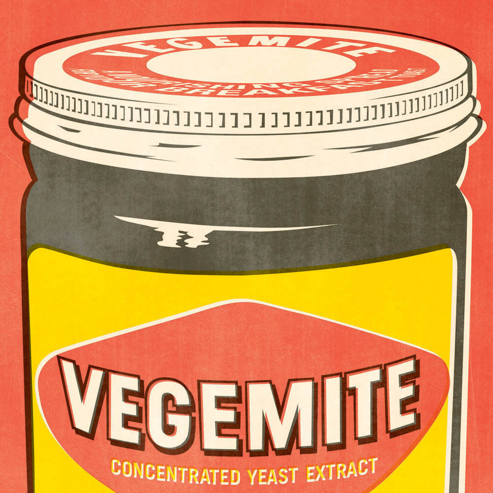 VEGEMITE POP ART