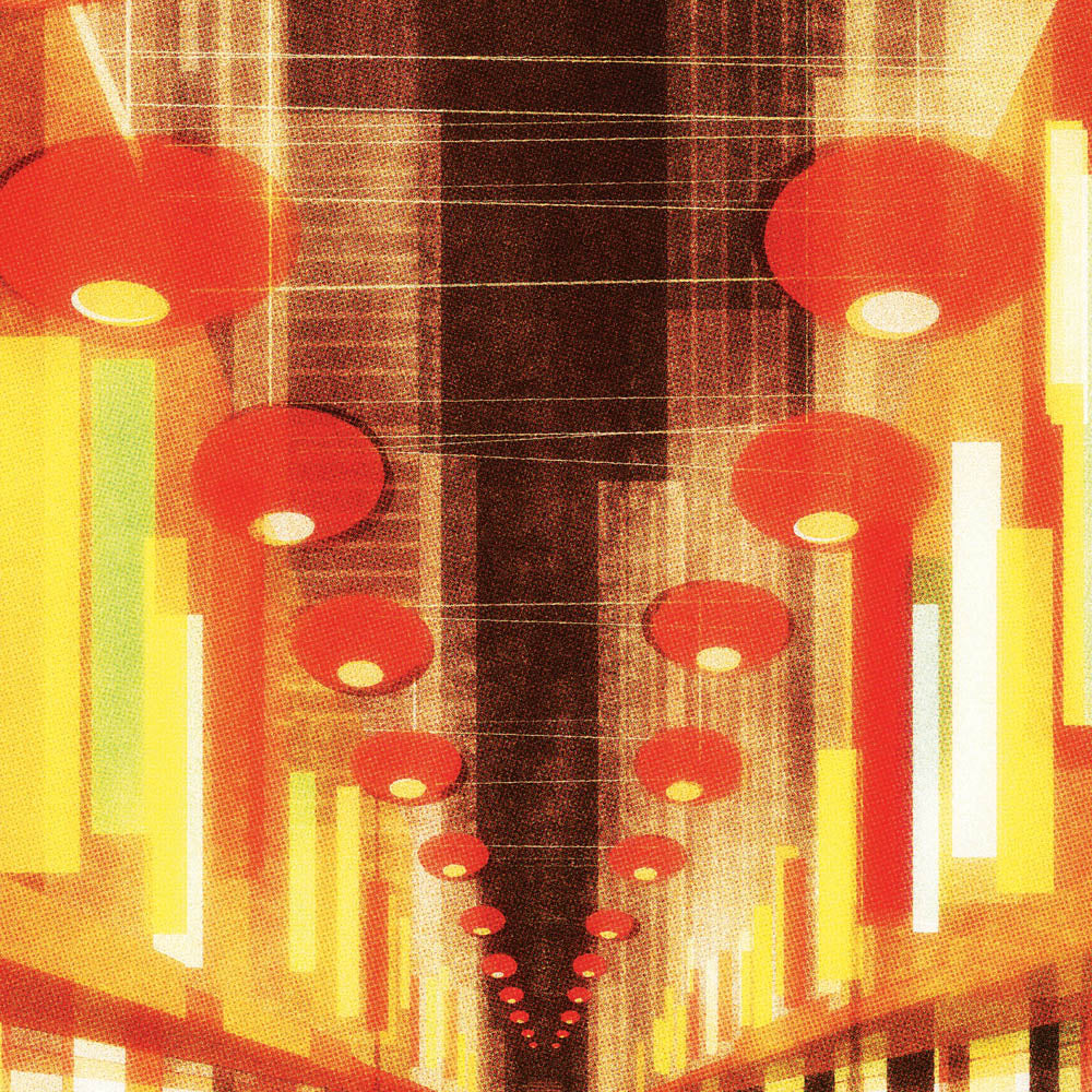 Chinatown print close up by Harper and Charlie