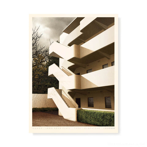 Fallingwater, Pennsylvania Colour Print