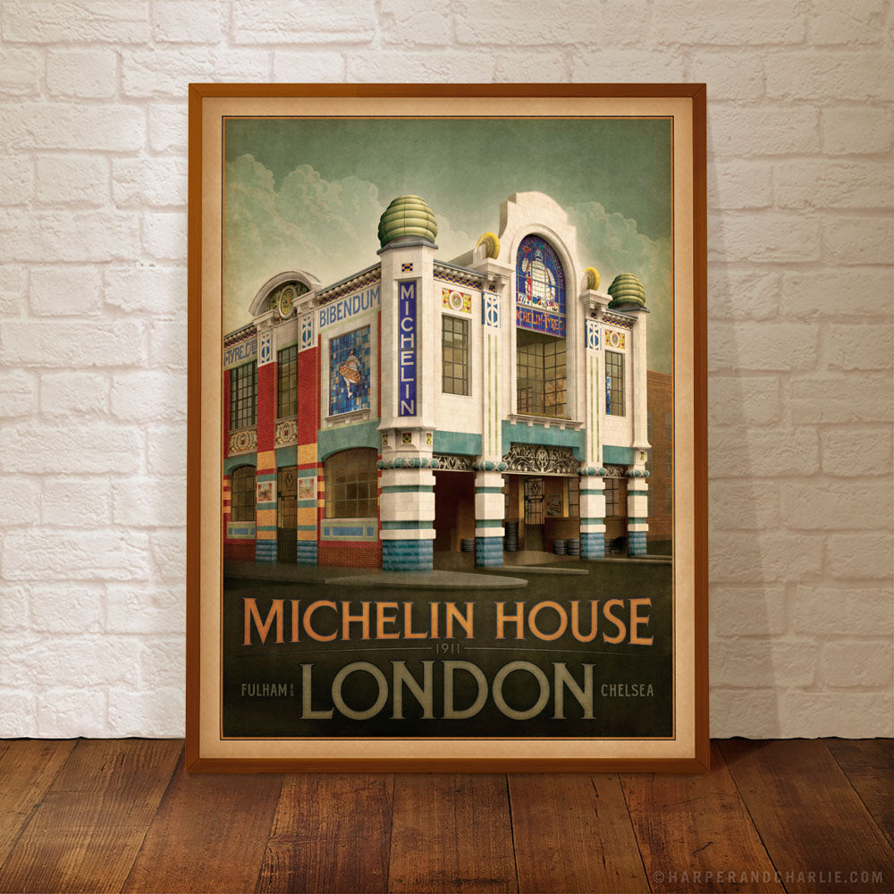 Michelin-House-Colour-Print-Framed-by-Harper-and-Charlie