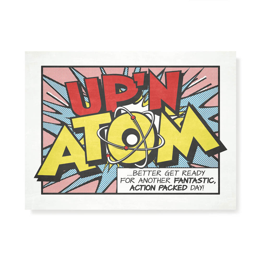 Up'n Atom Kids' Colour Print