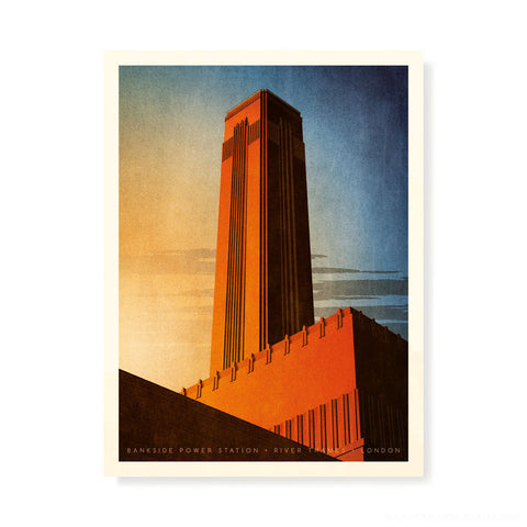 Bankside Power Station, London Colour Print